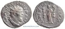 Ancient Coins - POSTUMUS. (AD 260-268) Antoninianus, 2.81g.  Lugdunum FIDES MILITVM