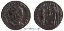 Ancient Coins - MAXIMIANUS. (AD 286-305) Follis, 3.22g.  Cyzicus. CONCORDIA MILITVM