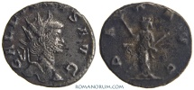 Ancient Coins - GALLIENUS. (AD 253-268) Antoninianus, 2.52g.  Rome. PAX AVG