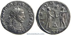 Ancient Coins - CARINUS . (AD 283-285 ) Antoninianus, 4.13g.  Antioch. Excellent portrait.