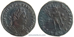 Ancient Coins - CONSTANTINE I, The Great . (AD 306-337) Follis, 3.63g.  London.