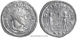 Ancient Coins - PROBUS. (AD 276-282) Antoninianus, 3.92g.  Antioch.