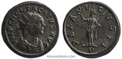 Ancient Coins - TACITUS. (AD 275-276) Antoninianus, 3.89g.  Ticinum. Silvered. Brilliant reverse.