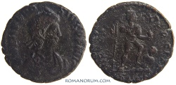 Ancient Coins - THEODOSIUS I. (AD 378-395) AE2, 5.15g.  Cyzicus.
