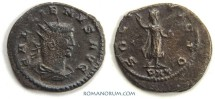 Ancient Coins - GALLIENUS. (253-268 A.D.) Antoninianus, SOLI INVICTO 3.38g. Antioch.