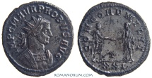 Ancient Coins - PROBUS. (AD 276-282) Antoninianus, 3.58g.  Siscia. Silvered. Great bust.