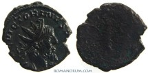 Ancient Coins - VICTORINUS. (AD 268-270) Antoninianus, 2.39g.  Field mint? Fantastic portrait, worn reverse die.