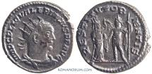 Ancient Coins - VALERIAN. (AD 253-260) Antoninianus, 3.74g.  Samosata.