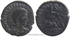 Ancient Coins - CONSTANTIUS GALLUS. (AD 351-54) AE3, 2.55g.  Uncertain mint.