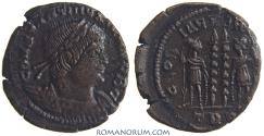 Ancient Coins - CONSTANTINE II. (AD 337-340) AE3, 2.45g.  Trier.