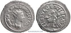 Ancient Coins - MACRIANUS. (AD 260-61) Antoninianus, 4.50g.  Samosata. Rare. INDVLGENTIAE AVE [sic]
