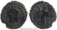 Ancient Coins - CONSTANS. (AD 337-350) AE 3, 1.10g.  Rome. SECVRITAS REIP Not common at all.