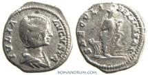 Ancient Coins - JULIA DOMNA. (Wife of Septimius Severus) Denarius, 3.21g. Isis and Horus