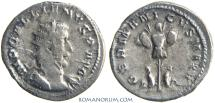 Ancient Coins - GALLIENUS. (AD 253-268) AR Antoninianus, 3.58g.  Lugdunum. German Captives.