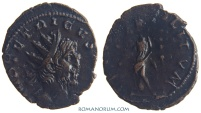 Ancient Coins - TETRICUS. (AD 271-74) Antoninianus, 1.89g.  Trier or Mainz FIDES MILITVM