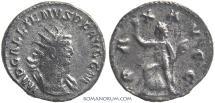 Ancient Coins - GALLIENUS. (AD 253-268) Antoninianus, 3.99g.  Rome. Unusual obverse legend.