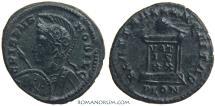 Ancient Coins - CRISPUS. (AD 317-326) AE3, 2.89g.  London. Beautiful green patina.