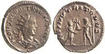 Ancient Coins - SALONINUS. (AD 258-260) Antoninianus, 3.03g.  Antioch. DII NVTRITORES