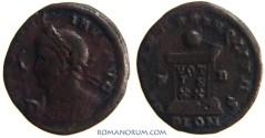 Ancient Coins - CONSTANTINE I, The Great. (AD 306-337) AE3, 2.05g.  London. BEATA TRANQLITAS