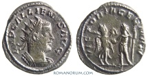 Ancient Coins - GALLIENUS. (AD 253-268) Antoninianus, 2.93g.  Antioch. VICTORIA GERMAN