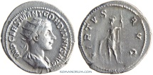 Ancient Coins - GORDIAN III. (AD 238-244) Antoninianus, 4.08g.  Rome. VIRTVS AVG
