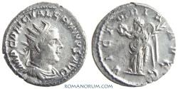 Ancient Coins - VALERIAN. (AD 253-260) Antoninianus, 3.62g.  Rome. VICTORIA AVGG. Not common.