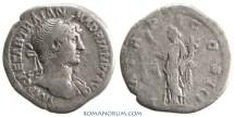 Ancient Coins - HADRIAN. (117-138 AD) Denarius, 2.77g.  Rome. Aequitas holding scales.