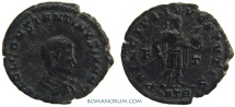 Ancient Coins - CONSTANTINE II. (AD 337-40) AE 3, 2.50g.  Trier. PRINCIPI . IVVENTVTIS Dot not recorded in RIC