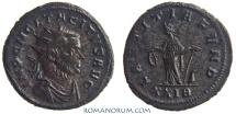 Ancient Coins - TACITUS. (275-276 AD) Antoninianus, 4.62g.  Rome. LAETITIA FVND Interesting, rare portrait.
