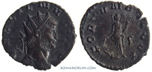 Ancient Coins - GALLIENUS. (AD 253-268) Antoninianus, 2.47g.  Rome. FORTVNA REDVX Common, but sharp.