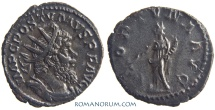 Ancient Coins - POSTUMUS. (AD 260-268) AR Antoninianus, 3.27g.  Trier. FORTVNA AVG Scarce.