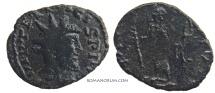 Ancient Coins - TETRICUS Barbarous imitation.. (AD 271-74) Antoninianus, 2.99g.  Uncertain mint. HILARITAS AVGG