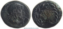 Ancient Coins - MARK ANTHONY and OCTAVIAN. AE21, 9.17g.  Macedonia, Thessalonica. ANT/KAI
