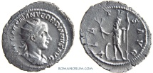Ancient Coins - GORDIAN III. (AD 238-244) Antoninianus, 3.73g.  Rome. VIRTVS AVG Large flan.