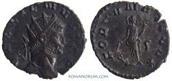 Ancient Coins - GALLIENUS. (AD 253-268) Antoninianus, 2.47g.  Rome. FORTVNA REDVX Common, but sharp.