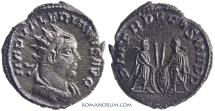 Ancient Coins - VALERIAN. (AD253-260) Antoninianus, 3.99g.  Antioch. Inspired by Augustus' type with grandchildren.
