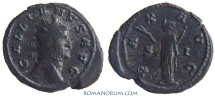 Ancient Coins - GALLIENUS. (AD 253-268) Antoninianus, 4.84g.  Mediolanum. PAX AVG