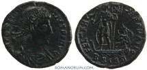 Ancient Coins - CONSTANTIUS II. AE3, 2.53g.  Siscia. Wonderful reverse.