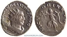 Ancient Coins - GALLIENUS. (AD 253-268 ) Antoninianus, 3.86g.  Viminacium. VICTORIA AVGG Actually rare.