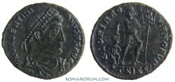 Ancient Coins - VALENTINIAN I. (AD 364-375) AE3, 2.72g.  Siscia. GLORIA ROMANORVM Early issue.