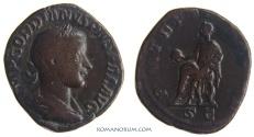Ancient Coins - GORDIAN III. (AD 238-244) Sestertius, 16.85g.  Rome. Scarce sestertius