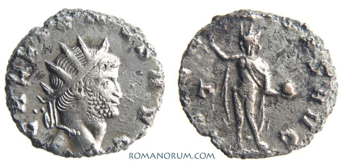 Ancient Coins - GALLIENUS. (AD 253-268 ) Antoninianus, 3.34g.  Rome. AETERNITAS AVG