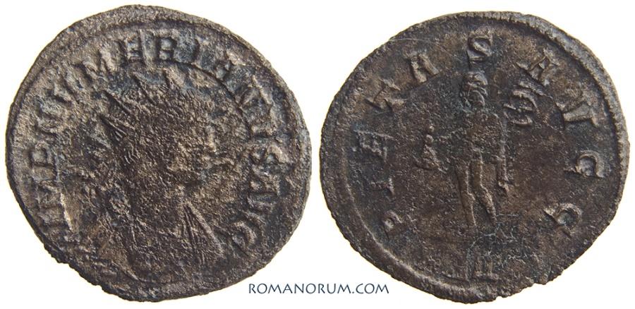 Ancient Coins - NUMERIAN. (AD 282-284) Antoninianus, 2.44g.  Rome. Mercury.