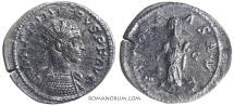 Ancient Coins - PROBUS. (AD 276-282) Antoninianus, 4.26g.  Lugdunum. Perhaps clogged dies.
