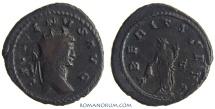 Ancient Coins - GALLIENUS. (AD 253-268 ) Antoninianus, 4.67g.  Rome. VBERITAS AVG Ample flan, heavy antoninianus.