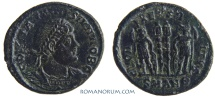 Ancient Coins - CONSTANTINE II. (AD 337-340) AE3, 2.22g.  Antioch. GLORIA EXERCITVS