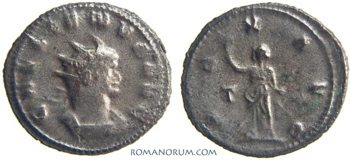 Ancient Coins - GALLIENUS. (AD 253-268) Antoninianus, 3.37g.  Rome. PAX AVG
