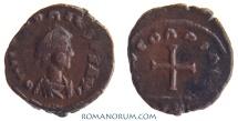 Ancient Coins - HONORIUS. (AD 393-423) AE4, 0.74g.  [Alexandria] CONCORDIA AVG Wonderful reverse cross.