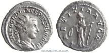 Ancient Coins - GORDIAN III. (AD 337-350 ) Antoninianus, 4.09g.  Rome. LAETITIA AVG