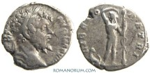 Ancient Coins - SEPTIMIUS SEVERUS. (AD 193-211) Denarius, 2.73g.  Rome. LIBERO PATRI. Great panther. Scarce